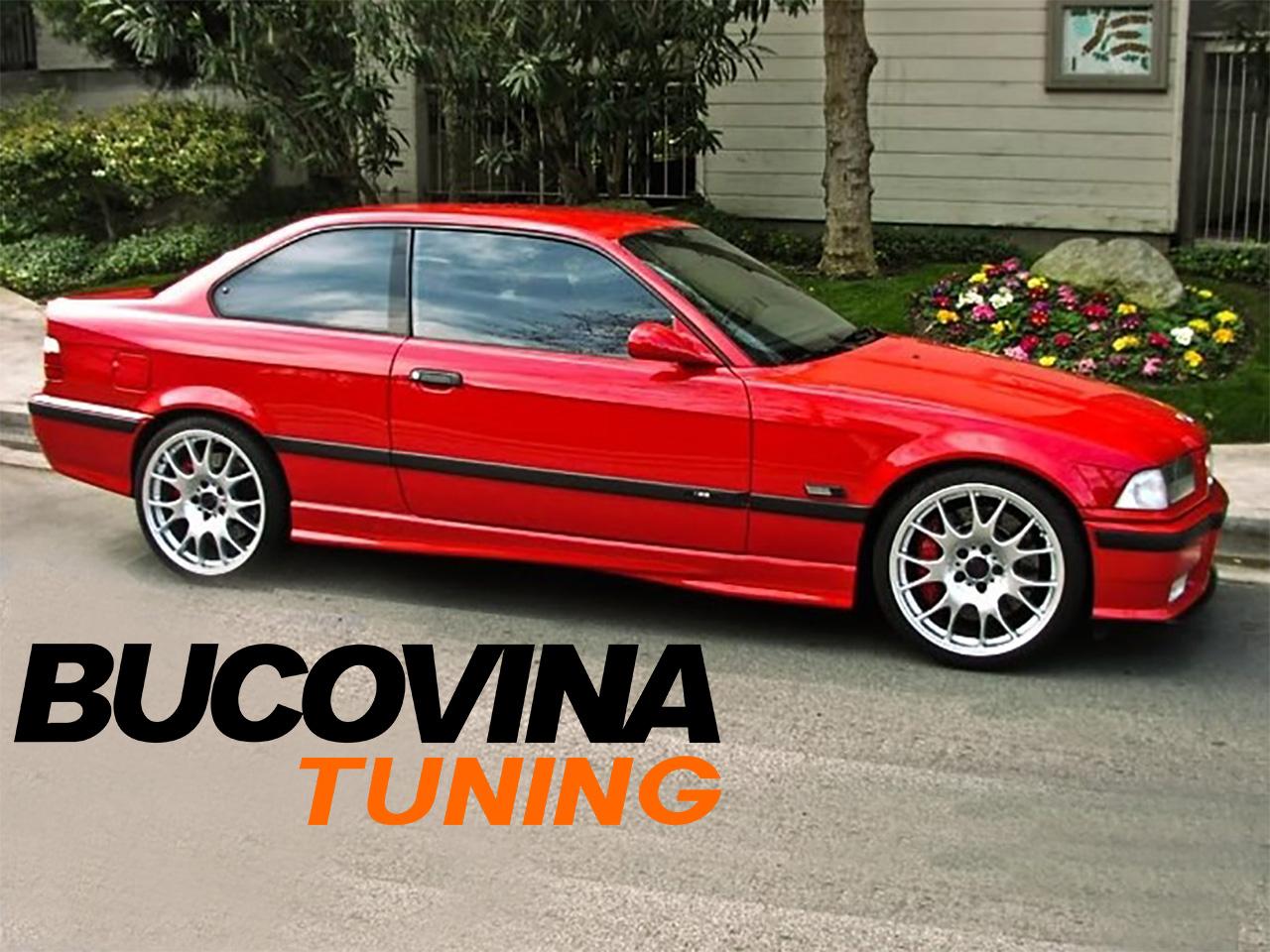 los angeles o selecție uriașă de textură bună Praguri laterale BMW seria 3 E36 (91-97) M3 Design - Bucovina Tuning