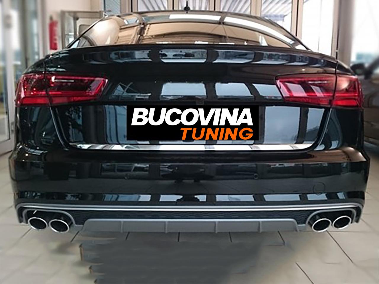Difuzor Bara Spate Audi A6 4g C7 Facelift 15 18 S6 Design Bucovina Tuning